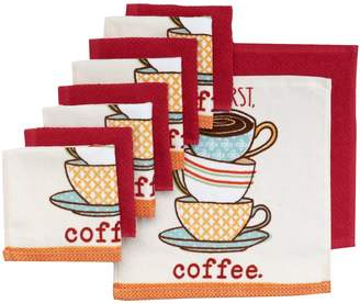 """The Big One """"But First, Coffee"""" Dish Towels - 10-pk."""