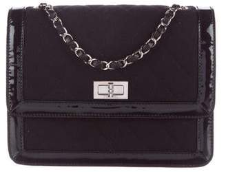 Chanel Quilted Jersey Mademoiselle Flap