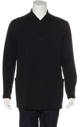 Emporio Armani Wool Button-Up Jacket