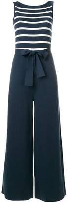 Loro Piana striped top sleeveless jumpsuit
