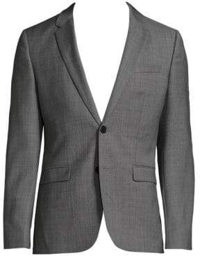 HUGO Astian-Hets Slim-Fit Wool Jacket