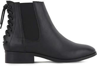 Aldo Boudinot leather Chelsea boots