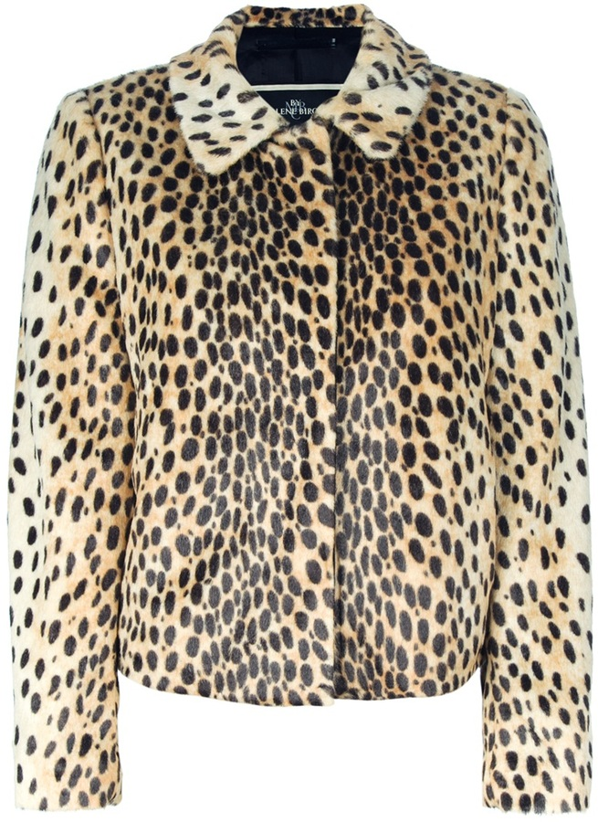 By Malene Birger leopard print coat