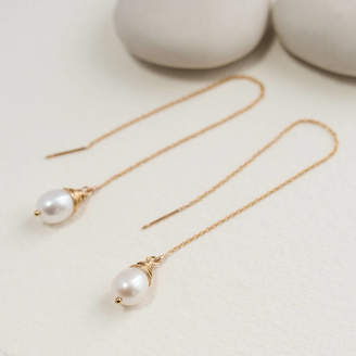 9d0b55898 Sarah Hickey Freshwater Pearl Ear Threads