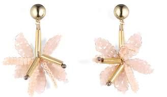 Lulu Frost Tahiti Drop Earrings - Pink