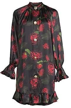 Mother of Pearl Women's Esme Rose Print Dress