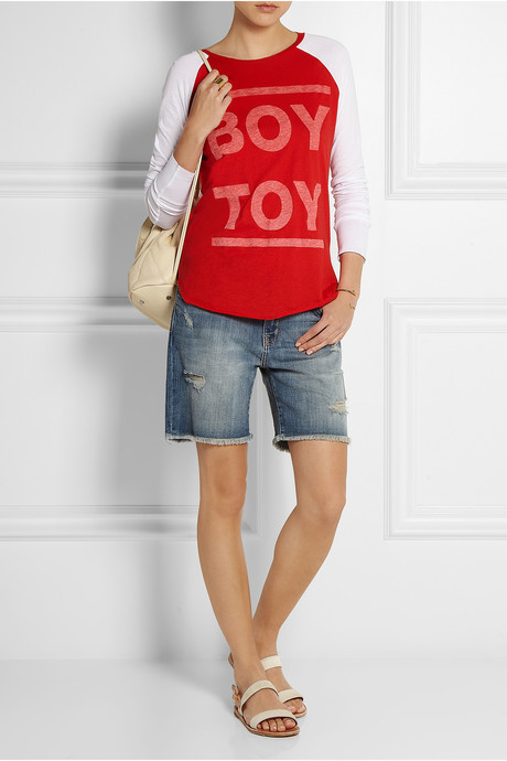Zoe Karssen Boy Toy cotton and modal-blend top