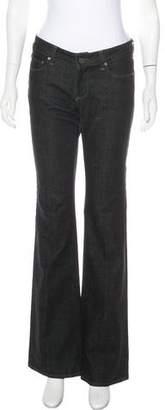Paige Novick Mid-Rise Wide-Leg Jeans