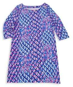 Lilly Pulitzer Little GIrl's& Girl's Mini Sophie Shift Dress