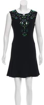 Diane von Furstenberg Jilleigh Passion Sleeveless Dress
