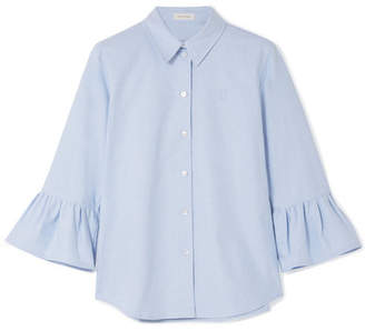 Marc Jacobs Cotton Oxford Shirt - Blue