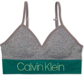 Calvin Klein Little & Big Girls Seam-Free Long-Line Bra