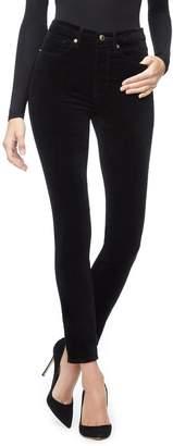 Good American Good Legs Velvet - Black038