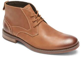 Rockport Wynstin Round Toe Leather Chukka Boots