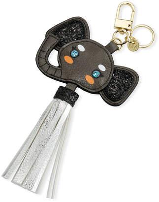 Neiman Marcus Elephant Tassel Keychain