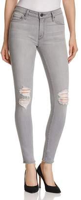e57eb57f767f2c Parker Smith Distressed Skinny Jeans in Concrete