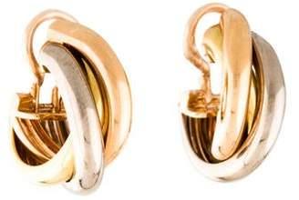 Cartier Trinity Clip-On Earrings