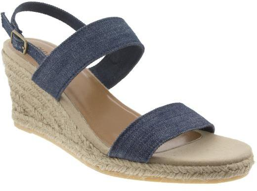Women's Canvas Wedge Sandals