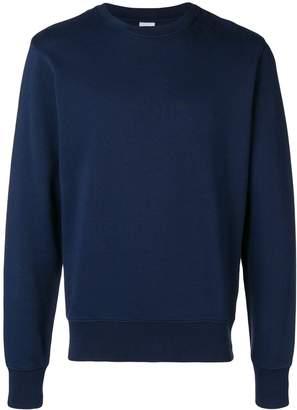 Aspesi garment washed crew neck sweatshirt