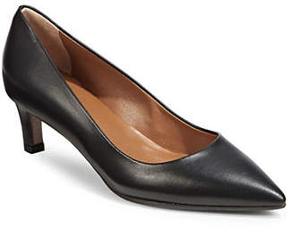 Aquatalia Marianna Nappa Leather Point Toe Pumps