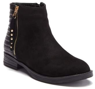Good Choice New York Zarley Ribbed Faux Suede Boot