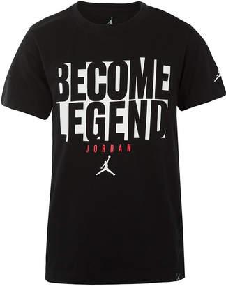 Jordan Big Boys Legend-Print T-Shirt