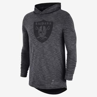 Nike Dri-FIT (NFL Raiders) Men's Hooded Long Sleeve Top