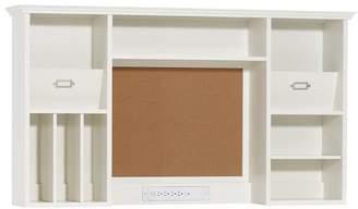 Pottery Barn Teen Hampton Smart Desk Hutch, Simply White