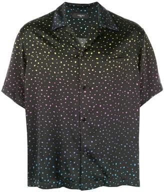 Amiri printed button down shirt