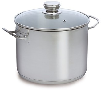Baccarat Gourmet 30cm 16.5 Litre Stainless Steel Stockpot with Glass Lid