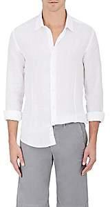 Orlebar Brown Men's Mortan Linen Shirt - White