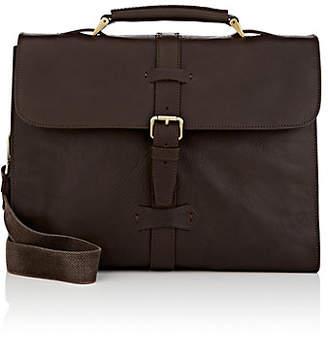 Boldrini Selleria Men's Leather Briefcase - Dk. brown