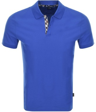 Hector Polo T Shirt Blue