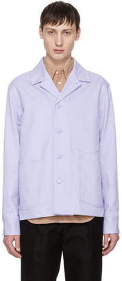 Acne Studios Purple Media Jacket