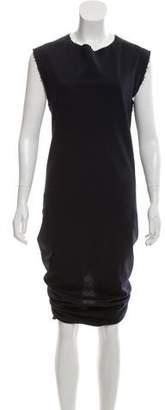 Acne Studios Asymmetrical Wool Dress