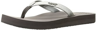 Reef Women's Star Cushion Sassy Flip Flop $37.99 thestylecure.com