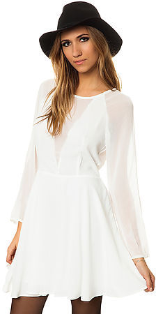 Glamorous The Barely Bad Dress in White