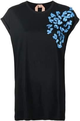 No.21 sequin embellished top