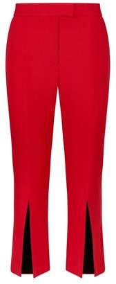 Robert Rodriguez Cropped Split Cuff Trousers