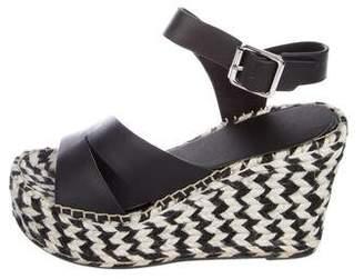 Sigerson Morrison Espadrille Platform Sandals w/ Tags