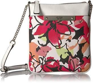 GUESS Britta Floral Crossbody Top Zip