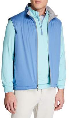 Peter Millar Men's Deuce Stretch-Knit Reversible Vest