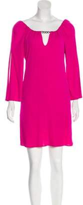 Milly Long Sleeve Mini Dress