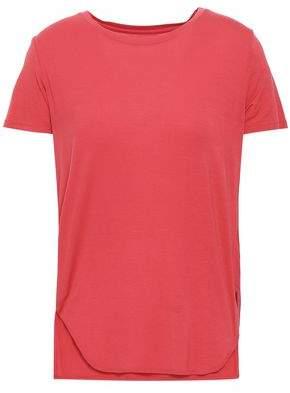 Majestic Filatures Melange Cotton-jersey T-shirt