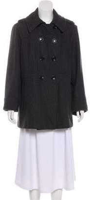MICHAEL Michael Kors Wool Double-Breasted Peacoat