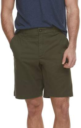 Marc Anthony Men's Solid Slim-Fit Flex Waistband Stretch Shorts