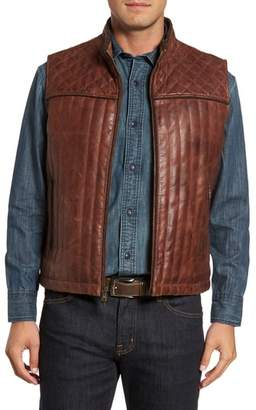 FLYNT Quilted Leather Vest