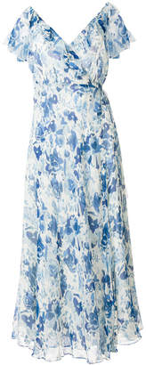 Polo Ralph Lauren floral flared maxi dress