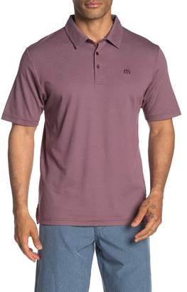 Travis Mathew The VIP Striped Polo Shirt
