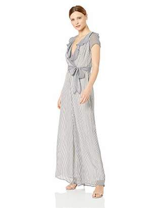 24a9ed1c6 Striped Jumpsuit With Ruffles - ShopStyle